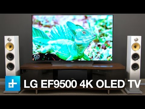 LG EF9500 TV - Review