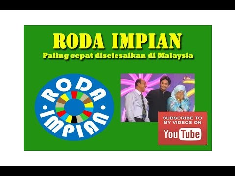 Video Roda Impian   Paling cepat diselesaikan download in MP3, 3GP, MP4, WEBM, AVI, FLV January 2017