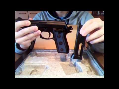 0 Пневматический пистолет Cybergun GSG 92