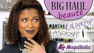 LaPlace (LA) United States  city photo : BIG HAUL BEAUTÉ Black Friday : Colourpop, Sephora US, LA Splash, Maquillalia....