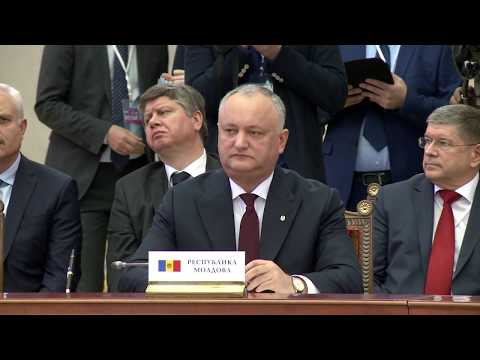 Президент Республики Молдова принял участие в расширенном заседании Высшего Евразийского Экономического совета