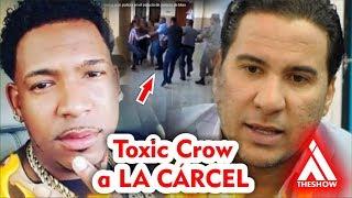 Cristian CasaBlanca MANDARÁ A LA CÁRCEL a Toxic Crow
