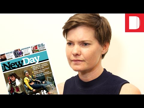 Trinity Mirror's Zoe Harris on The New Day closure: 'This sense that it is all over for print is really unfair' video