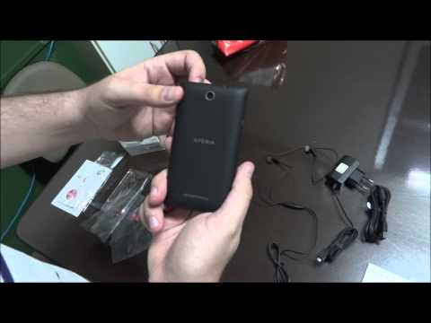 Unboxing Sony Xperia E Dual