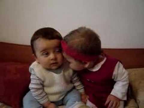 Two babies doing fun:)