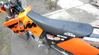2. ktm sx 450 2004 electric start