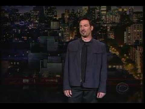 Joe Matarese on Letterman