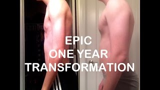 The Power of Bulking *EPIC ONE YEAR TRANSFORMATION*