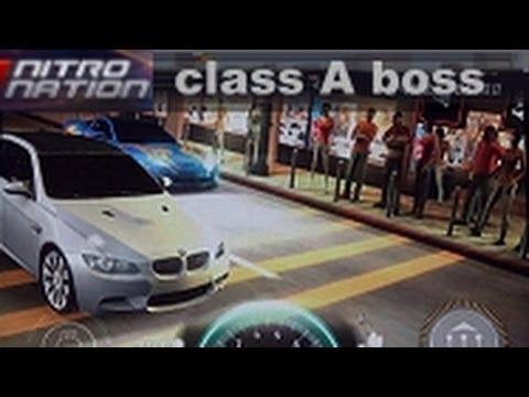 Nitro Nation class A STREET win boss race BMW M3 Coupe