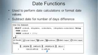Helen  Sun   CA84A Introduction to Database and SQL 04 23 2013
