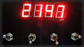 Switch Digit - DIY Tech Puzzle for Escape Room