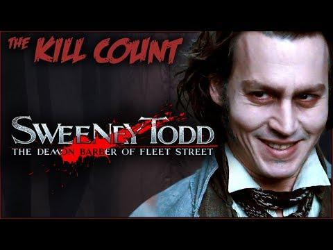 Sweeney Todd: The Demon Barber of Fleet Street (2007) KILL COUNT