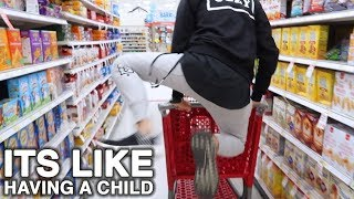 Why I Don't Shop With Him Around | Wahlietv Ep540