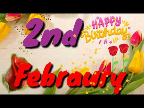 Happy birthday messages - 2 February birthday status video Enjoy  Special happy birthday wishes whatsapp status #जन्मदिन