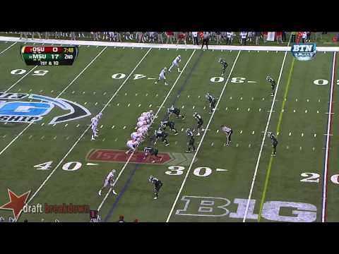 Braxton Miller vs Michigan St. 2013 video.