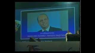 TeleUniverso:il Ministro Alfano al festival