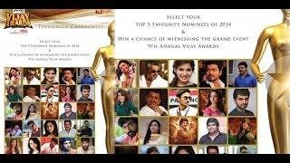 9th Annual Vijay Awards Nomination List