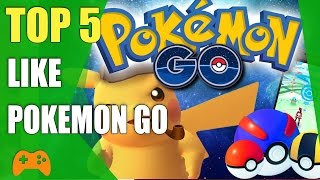 Video Top 5 games like Pokemon Go | Similar games to Pokemon Go for iOS and Android MP3, 3GP, MP4, WEBM, AVI, FLV November 2017
