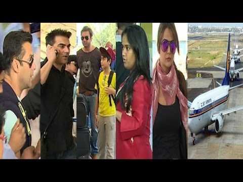 Salman Khan & Family Were Spotted At Airport