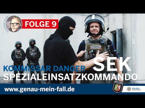 Kommissar Danger bei der Polizei NRW - Folge 9 - SEK (Spezialeinsatzkommando)