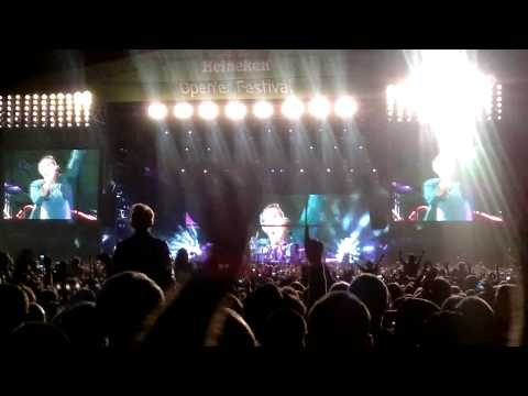Coldplay - Viva la Vida at Open'er Festival 2011