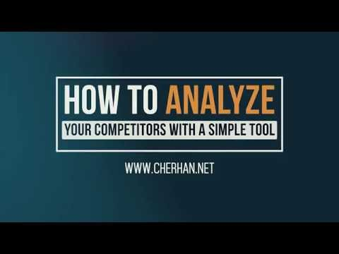 How To Analyze Your Competitors - Competitor Analysis Tool