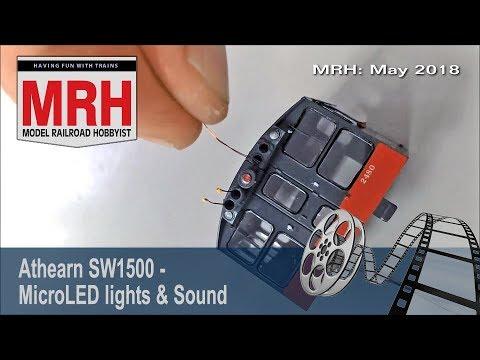 SW1500 lights and sound | May 2018 Model Railroad Hobbyist | Koos Fockens