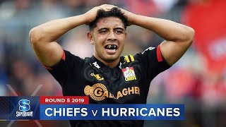 Chiefs v Hurricanes Rd.5 2019 Super rugby video highlights | Super Rugby Video Highlights