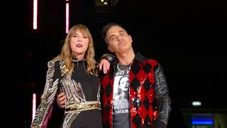 Taylor Swift & Robbie Williams - Angels (Live)