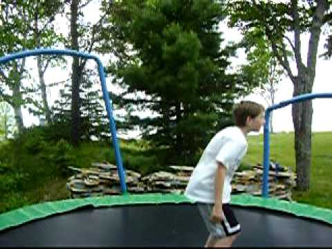 Sweet Trampoline Stunts