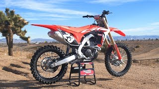 4. First Ride 2019 Honda CRF250 - Motocross Action Magazine