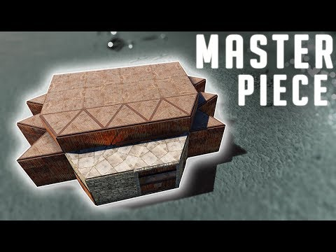 RUST - NEW DOOR PUSHING BUNKER BASE Frugal Base Building