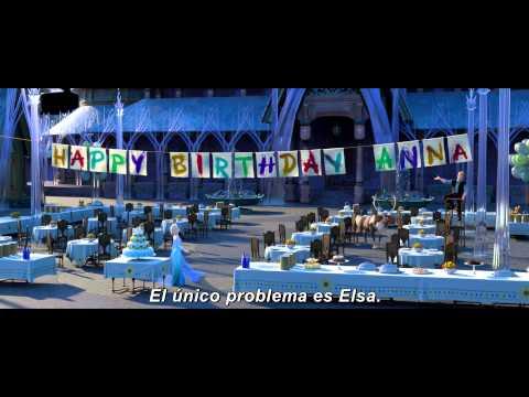 El cortometraje de Frozen