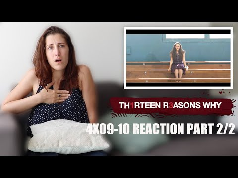 """13 REASONS WHY 4X09-10 """"PROM""""/""""GRADUATION"""" REACTION PART 2/2"""