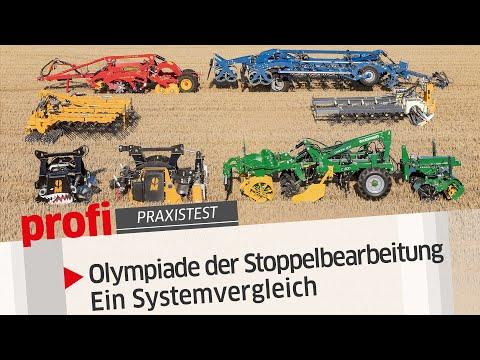Olympiade der Stoppelbearbeitung - Ein Systemvergleich | profi #Praxistest