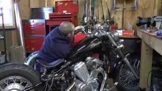 10. Complete 2004 Honda Shadow Bobber Build