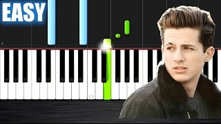 Charlie Puth - Marvin Gaye ft. Meghan Trainor - EASY Piano Tutorial  Ноты и МИДИ (MIDI) можем выслат