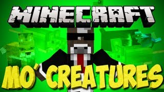 Minecraft: MO Creatures Lets Play   Fish Net, Fish Bowl and Fish Tank Upgrade   Ep. 72