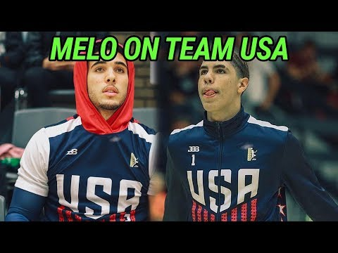 LaMelo & Gelo Ball Lead Team USA To EPIC COMEBACK & Buzzer Beater Win In Denmark! Melo Drops 31 🔥 (видео)