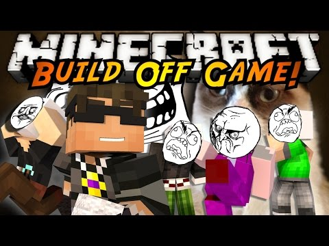 Minecraft Build Off : INTERNET MEMES!