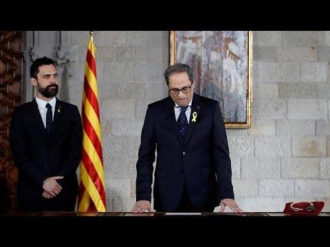 Πρώτος στόχος η αυτονομία για τη νέα καταλανική κυβέρνηση…