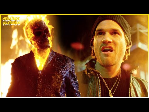 Ghost Rider Causes Mayhem | Ghost Rider: Spirit Of Vengeance | Creature Features