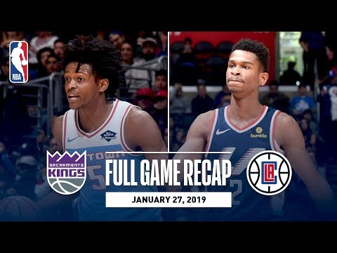 Video: Full Game Recap: Kings vs Clippers | Balanced Attack Leads LA