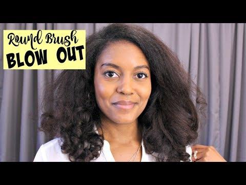 Hair salon - Salon Quality Blow Out Fine Natural Hair