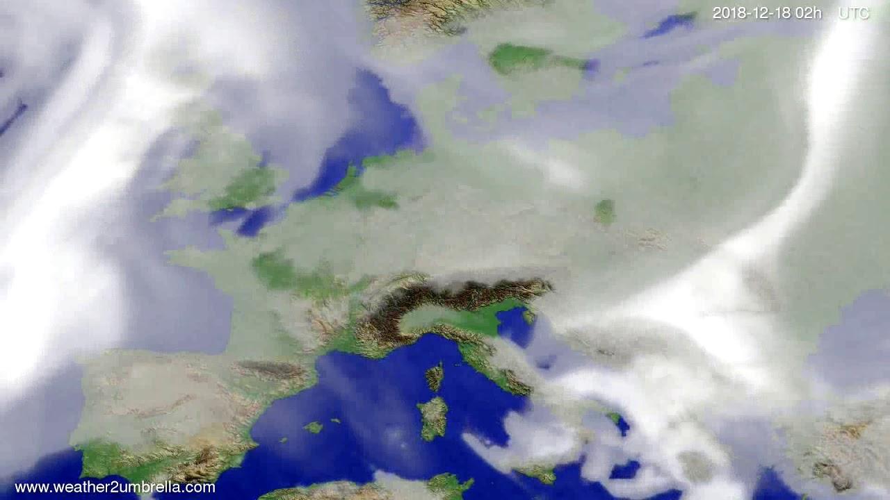 Cloud forecast Europe 2018-12-14