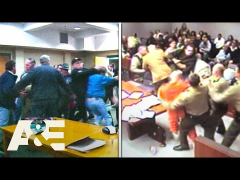 Court Cam: Courtroom Chaos - Top 5 Moments   A&E