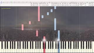 Лолита - гр. Винтаж (Ноты и Видеоурок для фортепиано) (piano cover)