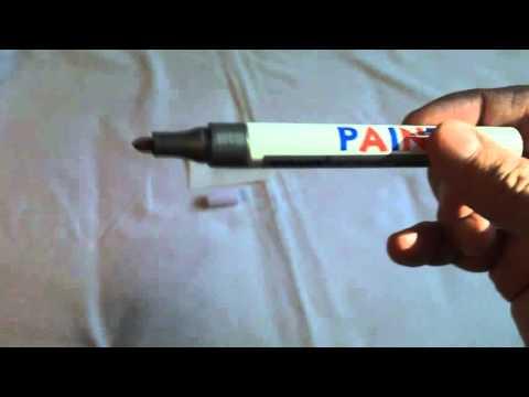 vernice bianca permanente pennarello pneumatico auto impermeabile universale, by BangGood