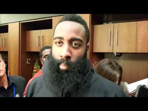 James Harden on Josh Smith's return and Rockets win