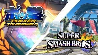 Smash 4 VS Pokkén | Moveset Similarities
